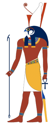 180px-Horus_standing.svg