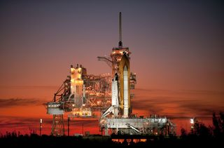Gpw-200911-nasa-sts129-s-005-sunset-space-shuttle-atlantis-sts-129-launch-pad-39a-florida-20091115-medium