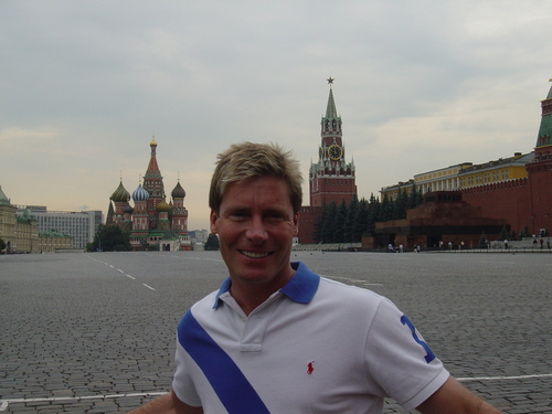Graham in Red Square
