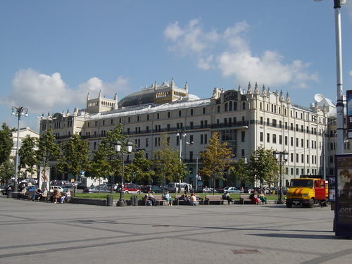 I stayed at the Hotel Metropol