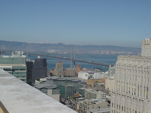 Bay Bridge from Paramount