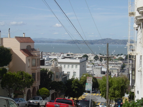 Another Bay view from Pacific Heights
