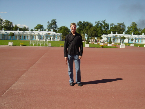 Graham at Catherine's Palace