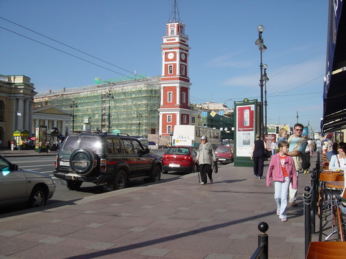 View on Nevsky Prospect