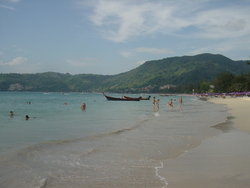 A view of Phuket beach